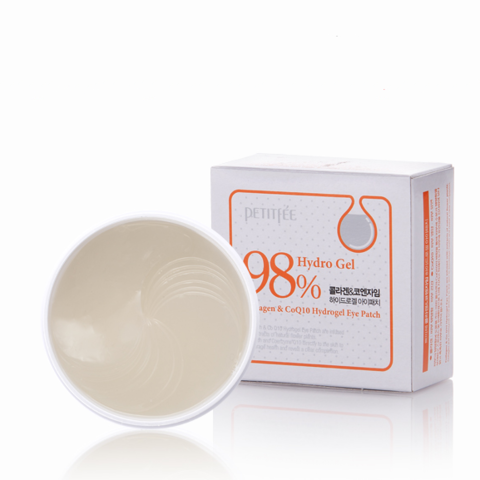 Petitfee Collagen & Co Q10 Eye Patch Гидрогелевые патчи для глаз 60 шт