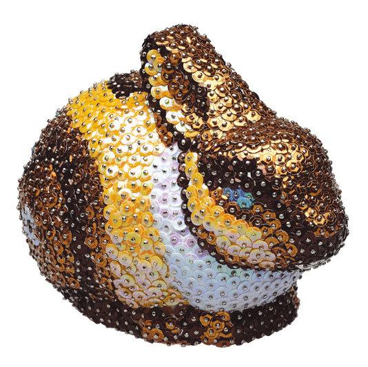 Фигурка из пайеток 3D