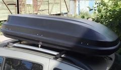 Бокс V-Star 350L 160х65х40 см черный матовый (BX1350BLM)
