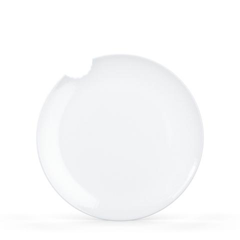 2 столовые тарелки TASSEN со следом укуса