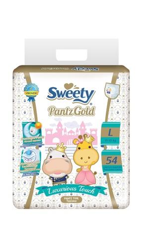 Трусики Sweety Pantz Gold L54 (11-15кг)