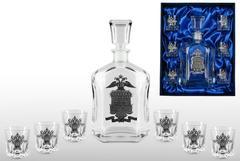 Подарочный набор для водки со штофом «Полиция», фото 1