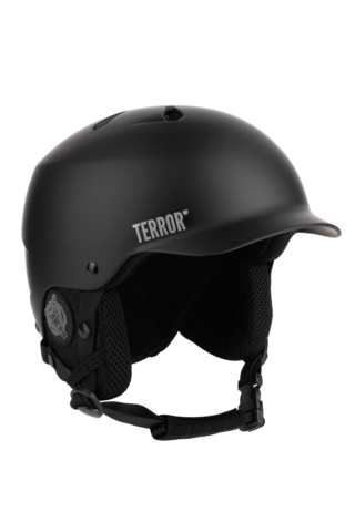 ШЛЕМ ДЛЯ СНОУБОРДА TERROR - FREEDOM HELMET BLACK