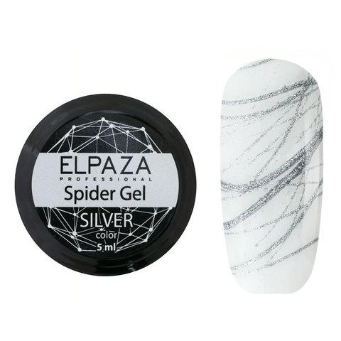 Гель-краска ELPAZA Spider Silver (Паутинка) (серебро) 5гр