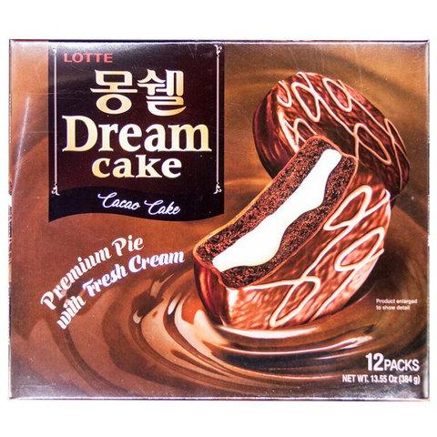 Печенье бисквитное покрытое шоколадом Dream Cake CACAO 384 гр
