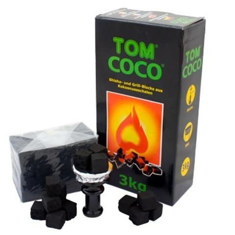 Кокосовый уголь Tom Coco 3 кг