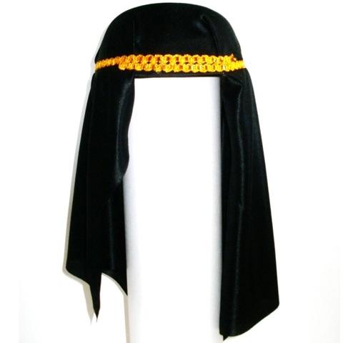 Шляпа шейха- платок черный