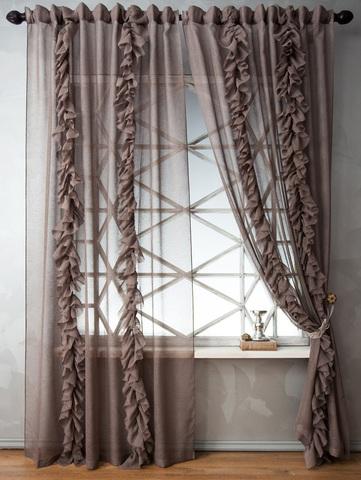 Комплект штор Иви венге