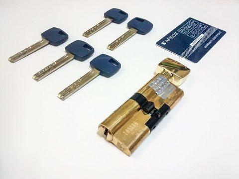 Цилиндровый механизм Apecs Premier XR-70-C15 с вертушкой