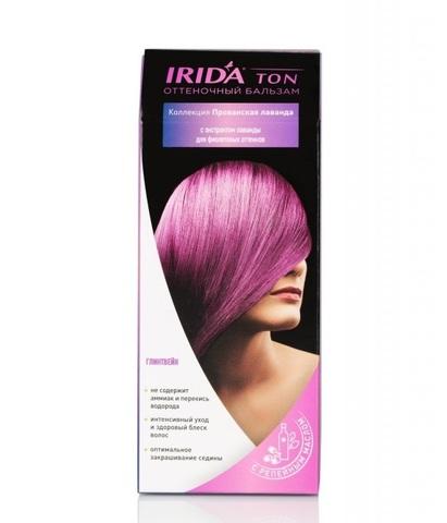 Irida Irida Ton Оттеночный бальзам для окраски волос Глинтвейн 2*25мл