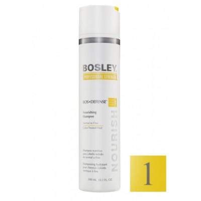 Bosley PRO Defense Желтая линия: Шампунь для нормальных/тонких окрашенных волос (Shampoo Normal to Fine Color-Treated), 300мл/1л