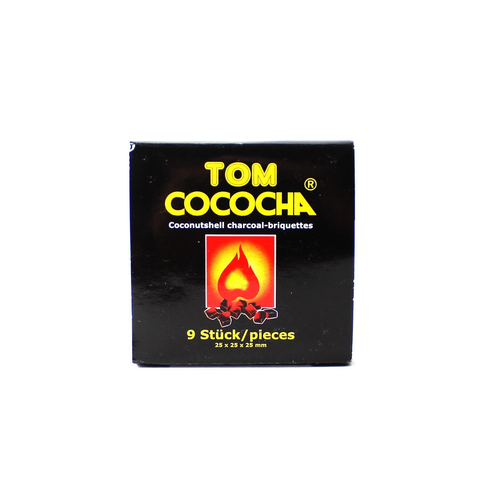 Уголь Tom Cococha Yellow 25 кубик (9 штук)