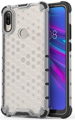 Ударопрочный чехол для Huawei Y6 2019 года от Caseport, серия Honey, прозрачный