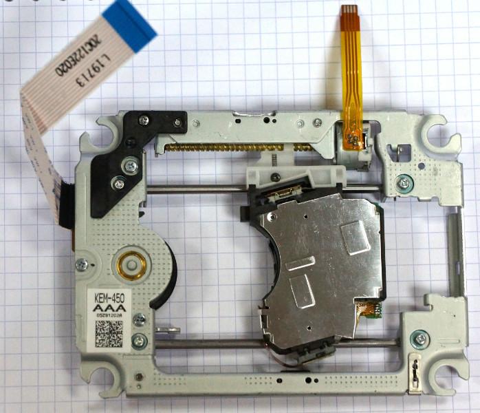 KEM-450AAA оптическая головка в сборе с механикой