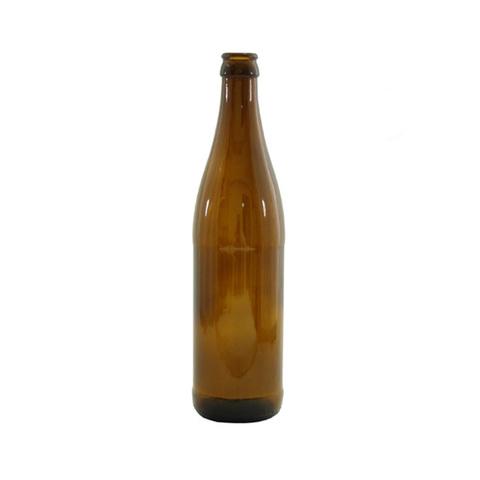Бутылка пивная 0,5 л. коричневая (20 шт.) термоусадочная пленка