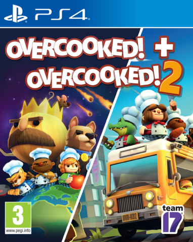 PS4 Overcooked & Overcooked! 2 - Double Pack (английская версия)