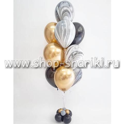 Фонтан из шаров премиум