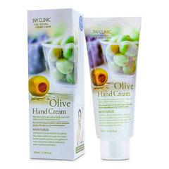 3W Clinic Olive Hand Cream - Крем для рук с оливковым маслом