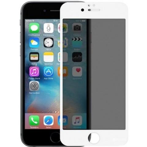 Стекло защитное iPhone 8/7 2.5D White Privacy Антишпион