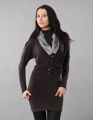 A30 костюм женский, коричневый