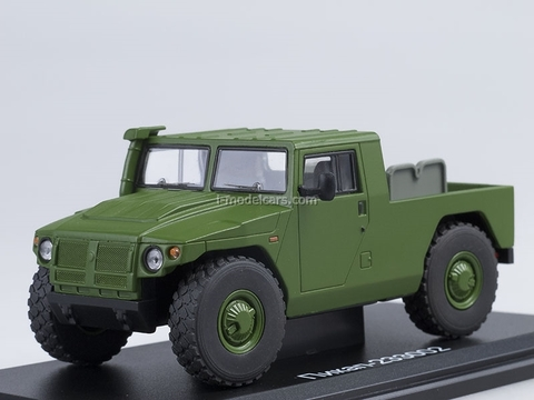GAZ-233002 Tiger pickup open khaki 1:43 Start Scale Models (SSM)
