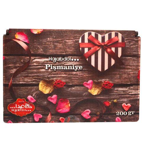 """Ассорти пишмание в подарочной деревянной упаковке """"Сердечки"""", Hajabdollah, 200 г"""