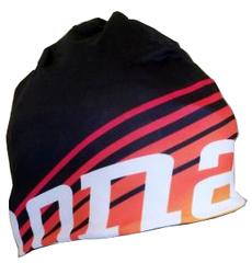 Элитная тёплая Шапка Noname Speed Hat Clubline Black-Orange