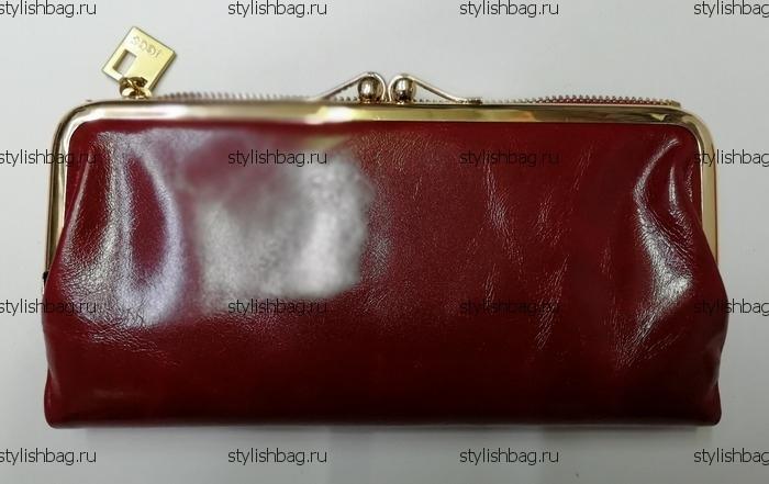 Красный женский кошелек с поцелуйчиком JCCS j-3246