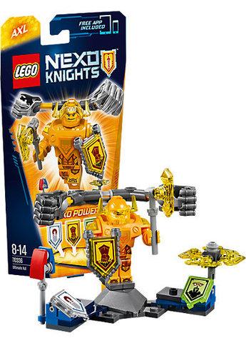 LEGO Nexo Knights: Аксель — Абсолютная сила 70336 — Ultimate Axl — Лего Нексо Рыцари