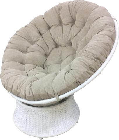 Подушка на кресло Папасан Бежевая