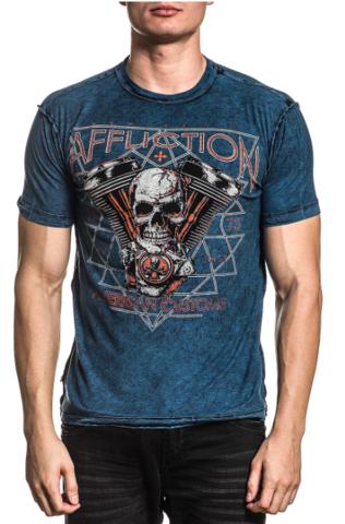 Двусторонняя мужская футболка Affliction