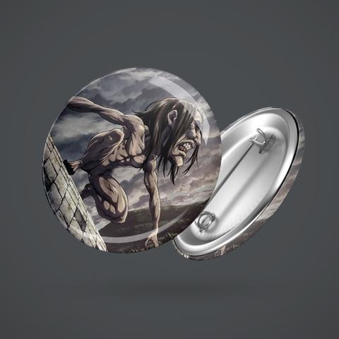 Значок с гигантом Имир