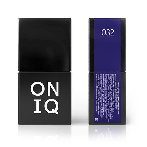 Гель-лак ONIQ - 032 мл Spectrum blue, 10 мл