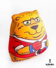 Подушка-игрушка антистресс «Медведь-вратарь» 3