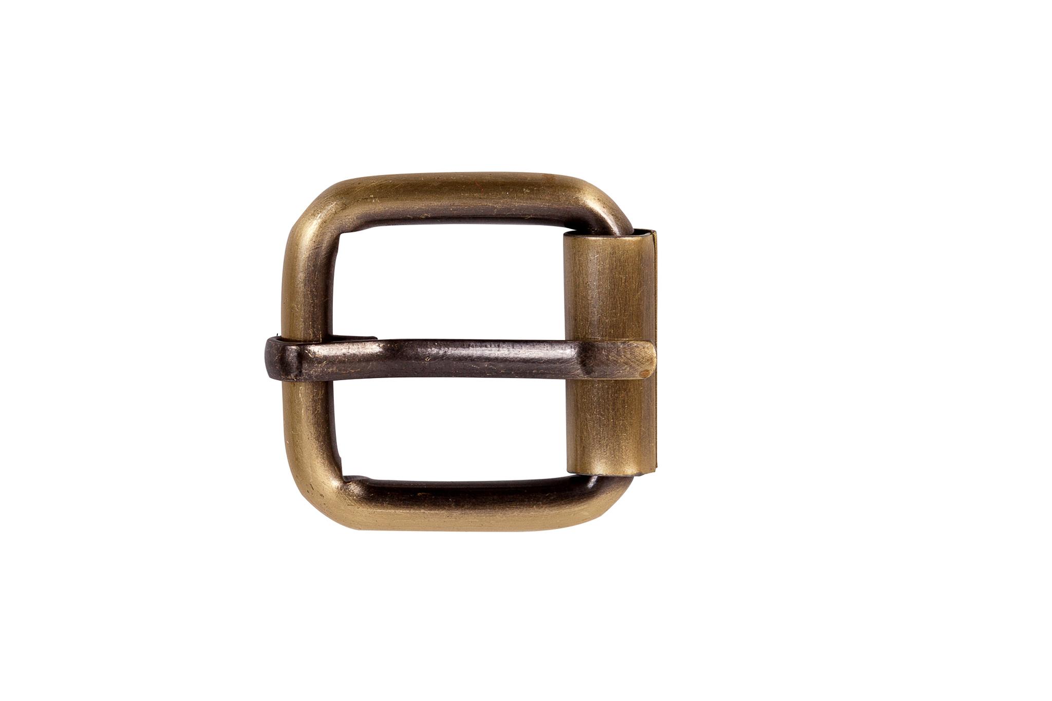 Пряжка с роликом 20 мм - латунь
