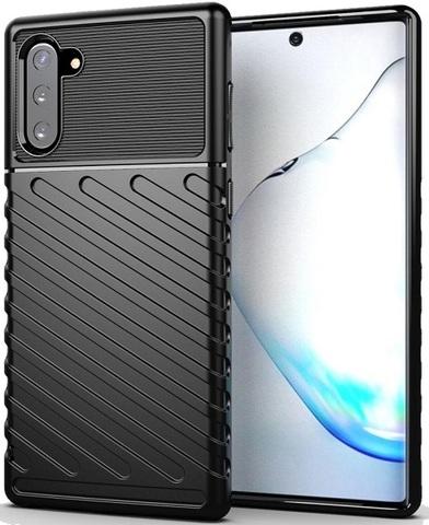 Чехол Samsung Galaxy Note 10 цвет Black (черный), серия Onyx, Caseport