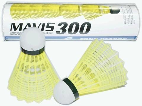 Волан пластиковый, головка пробка. 6 шт в тубе: М-300