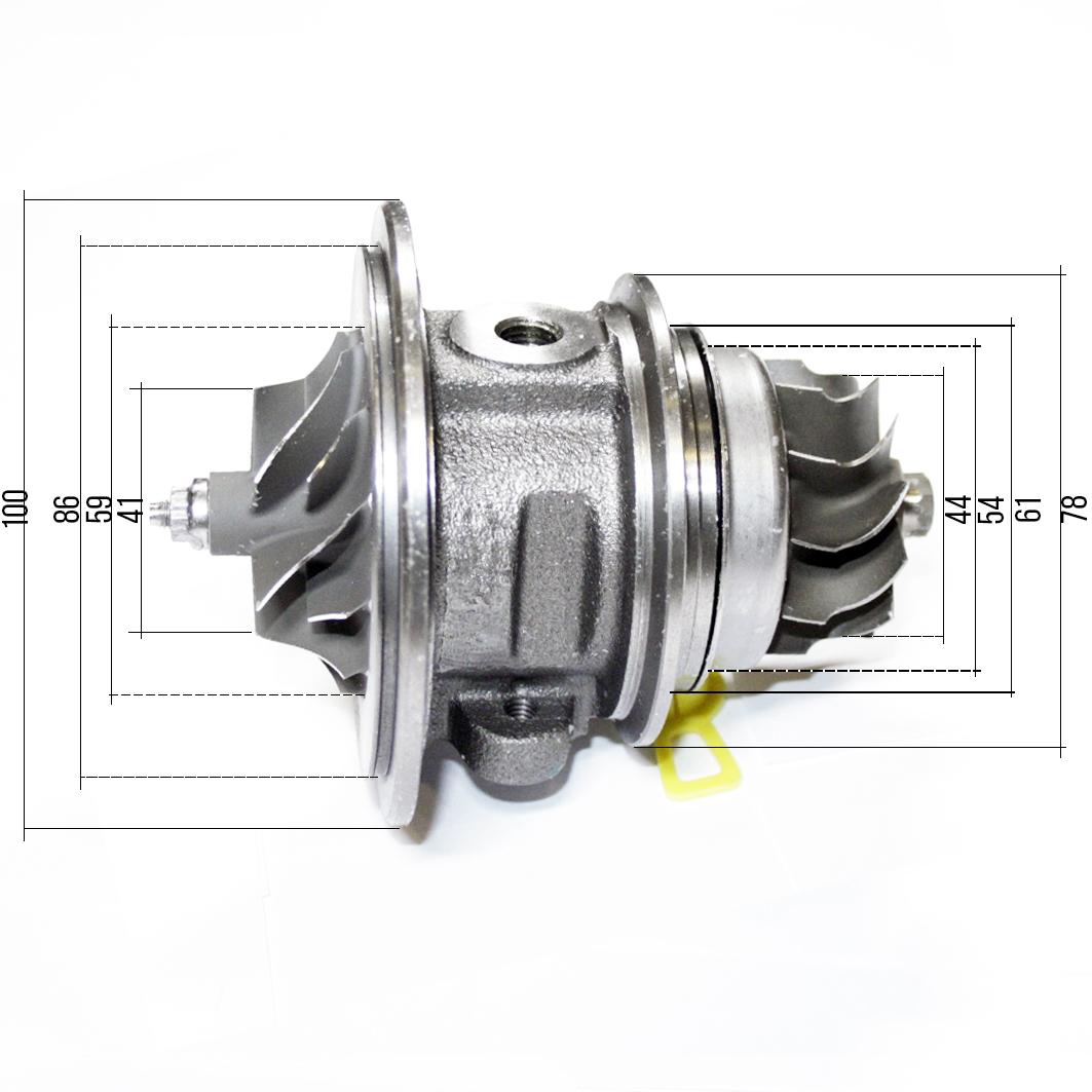 Картридж турбины HE211W ГАЗель 2.8 ISF