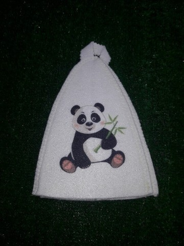 Шапочка детская Панда