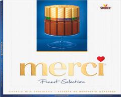 Конфеты Merci Finest Selection Молочный шоколад 250 г (4014400901405)