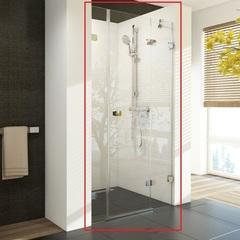 Дверь душевая распашная в нишу 120х195 см правая Ravak Brilliant BSD3-120 R 0UPG0A00Z1 фото