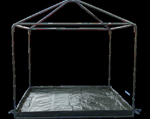 Пол для шатров и беседок от компании Митек 5 х 2.5 метра.