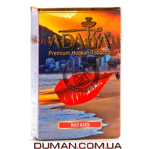 Табак Adalya Rio Kiss (Адалия Поцелуй Рио - Лед Тропические Фрукты)