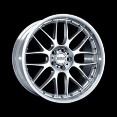Диск колесный BBS RX II 8.5x19 5x120 ET20 CB82.0 brilliant silver/diamond cut