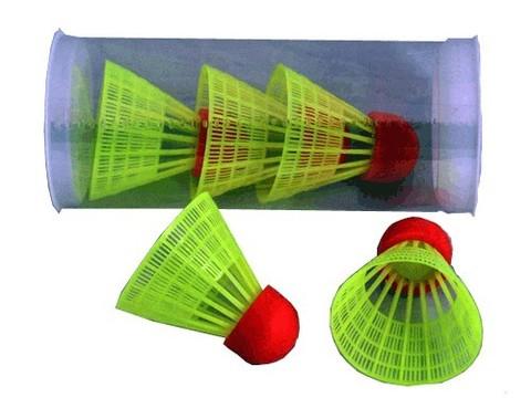 Волан пластиковый c резиновой головкой. В тубе  5 шт: Small-12