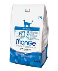 Monge Cat Urinary корм для кошек профилактика МКБ  400г