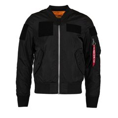 Бомбер Alpha Industries L-2B Flex W Black (Черный)