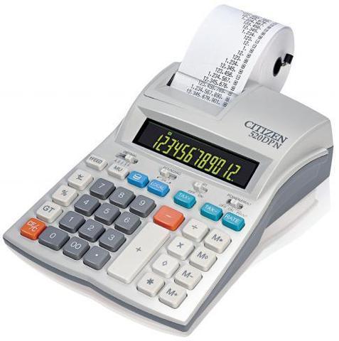 Калькулятор с печатью Citizen 520 DPN
