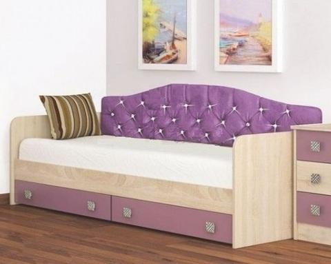 Кровать КОЛИБРИ с мягкой спинкой