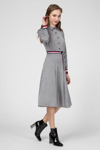 Женское платье с принтом DEMI Tommy Hilfiger